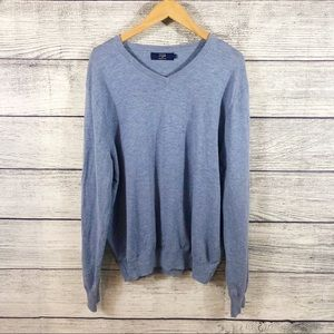 J Crew Factory V neck pullover sweater
